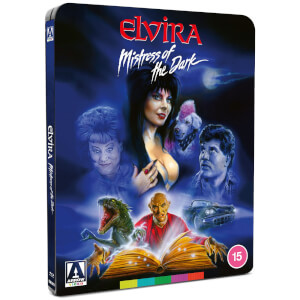 Elvira: Mistress of the Dark - Zavvi Exclusive Limited Edition Steelbook