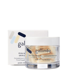 Gallinée Skin and Microbiome Food Supplement: A Month of Pre, Pro and Postbiotics (30 Caps) 80g