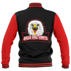 Cobra Kai Unisex Varsity Jacket - Black/Red