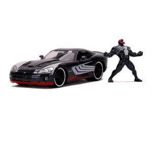 Jada Toys Marvel Venom 2008 Dodge Viper 1:24