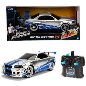 Jada Toys Fast & Furious RC Nissan Skyline Gtr 1:24