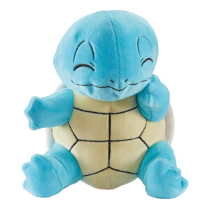 Pokémon 8 Inch Plush - Squirtle (Sitting)