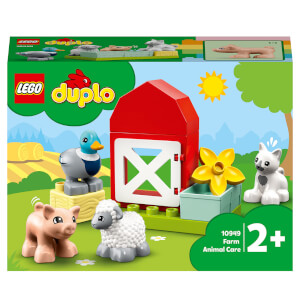 LEGO DUPLO Town: Farm Animal Care Toy for Toddlers (10949)