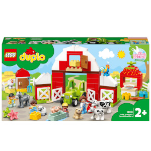 LEGO DUPLO Town: Barn, Tractor & Farm Animal Care Toy (10952)