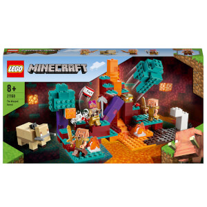 LEGO Minecraft: The Warped Forest Building Set (21168)