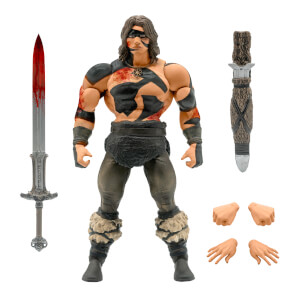 Super7 Conan ULTIMATES! Figure - War Paint Conan
