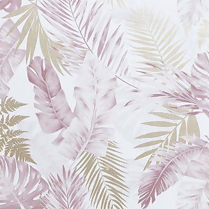 Soft Tropical Blush Artistick Wallpaper