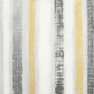 Painted Stripe Ochre Artistick Wallpaper