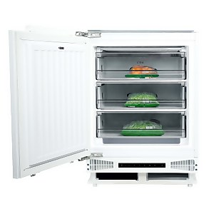 CDA FW284 Integrated Under Counter Freezer - 60cm - White
