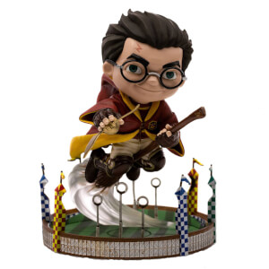 Iron Studios Harry Potter Mini Co. Illusion PVC Figure Harry Potter at the Quidditch Match 13 cm
