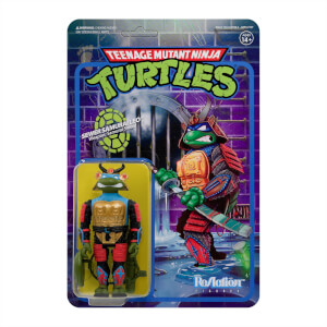 Super7 Teenage Mutant Ninja Turtles ReAction Figure - Samurai Leonardo