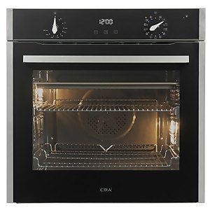 CDA SL500SS Built-in Pyrolytic Single Electric Oven - 13 Function - Stainless Steel