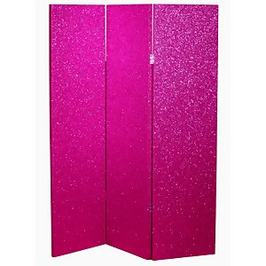 Arthouse Sequin Room Divider - Pink