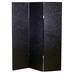 Arthouse Sequin Room Divider - Black