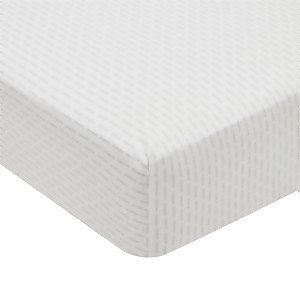 Silva Fitted Sheet Double Bed Cloud Grey