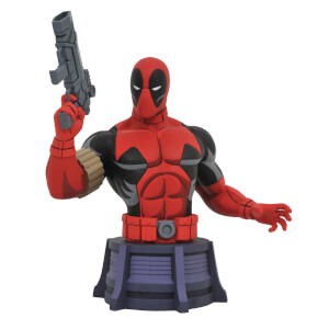 Diamond Select Marvel Animated Deadpool Bust