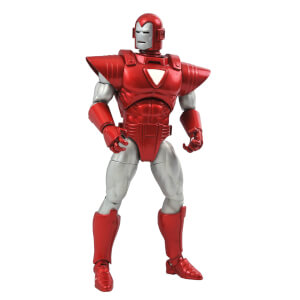 Diamond Select Marvel Select Marvel NOW Silver Centurion Iron Man Action Figure