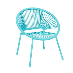 Homebase Acapulco Kids Chair - Blue