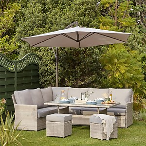 Florence Garden Corner Sofa Set