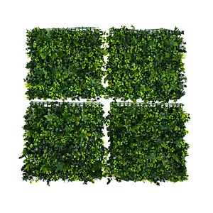 Artificial Mixed Leaf Ivy Wall 4pk