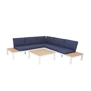 Spirit Garden Corner Sofa Set - Navy