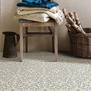 FloorPops Peel and Stick Floor Tiles - Antico