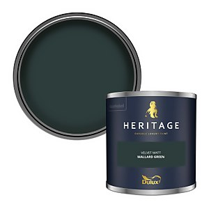 Dulux Heritage Colour Tester - Mallard Green - 125ml