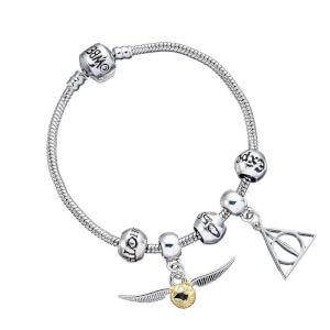 Harry Potter Charm & Bracelet Set from I Want One Of Those