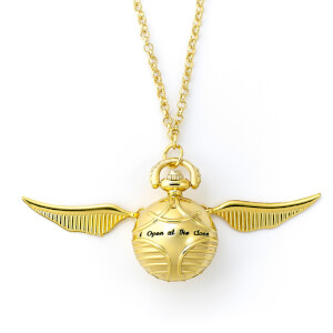 Harry Potter Golden Snitch Watch Necklace from I Want One Of Those