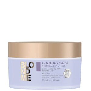 Schwarzkopf Blondme Neutralizing Mask - Cool 200ml