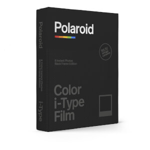 Polaroid Color film for i-Type – Black Frame Edition