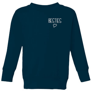 Besties Kids' Sweatshirt - Navy