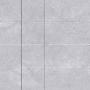 Finley Tile Effect Vinyl Flooring - Grey - 2x2m
