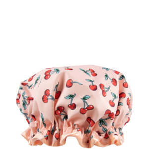 The Vintage Cosmetic Company Cherry Print Shower Cap