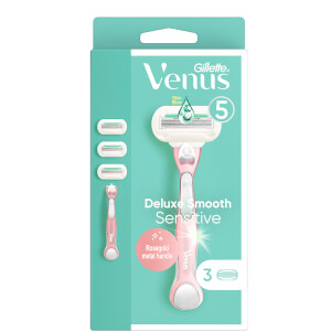 Venus Deluxe Smooth Sensitive Rose Gold H+3 Blades