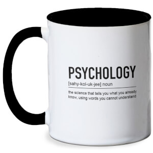 Psychology Definition Mug - White/Black