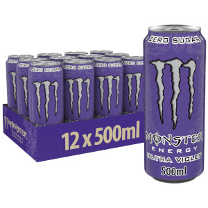 Monster Ultra Violet 12 x 500ml