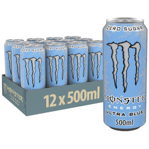 Monster Ultra Blue 12 x 500ml