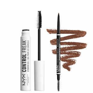 NYX Professional Makeup Tame and Define Brow Duo (Various Shades)