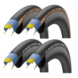 Goodyear Eagle F1 Road Tyre Twin Pack