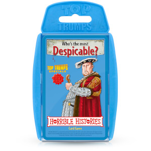 Top Trumps Card Game - Horrible Histories Edition