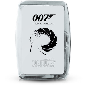 Top Trumps Card Game - James Bond Every Assignment Edition from I Want One Of Those