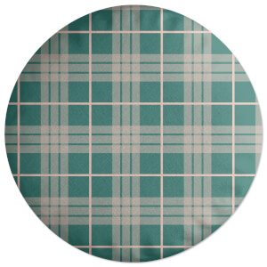 Home Tartan Round Cushion