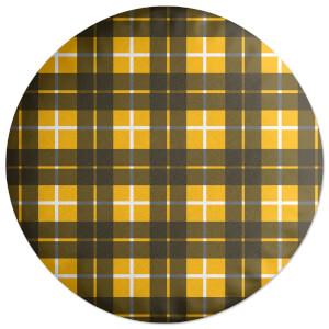 Classic Tartan Round Cushion