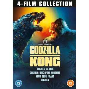 Warner Bros. Godzilla and Kong 4-Film Collection