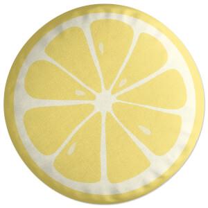 Lemon Round Cushion
