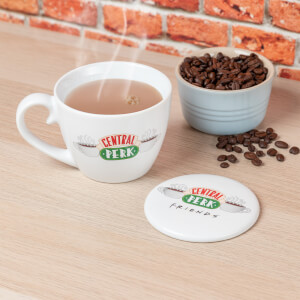 Friends Central Perk Mug and Coaster Set from I Want One Of Those