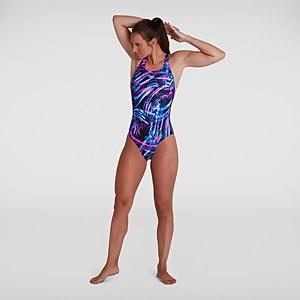Women's Allover Powerback Swimsuit Black