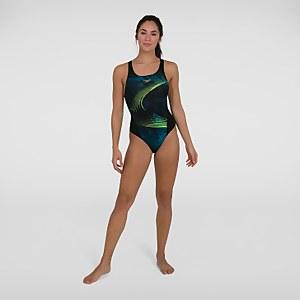 Women's Placement Recordbreaker Swimsuit Black