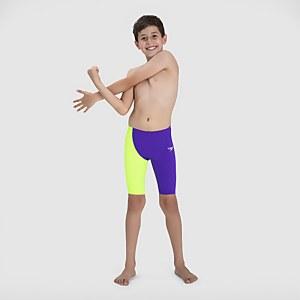 Boy's Fastskin Junior Endurance+ High Waisted Jammer Violet
